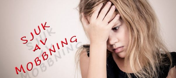 Mobbning skapar stress och av det blir man sjuk